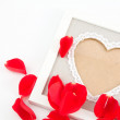 Valentine border — Stock Photo #39560071
