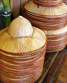 Bamboo hats — Stock Photo