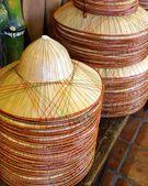 Bamboo hats — Stock Photo