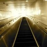Escalator going to the heaven — Stock Photo #44533933