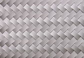 Image of gray ribbon weaved pattern — Stock Photo