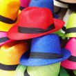 Stock Photo: Colorful hats
