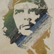 Wall painting of Ché Guevara — Stock Photo #36464021