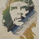 Wall painting of Ché Guevara — Stock Photo
