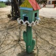 Bird house on Aruba — Stock Photo