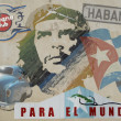 Wall painting of Ché Guevara — Stock Photo