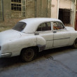 Stock Photo: Oldtimer in Havana, Cuba