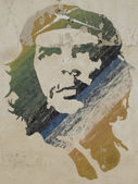 Wall painting of Ché Guevara — ストック写真
