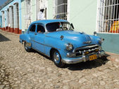 Oldtimer in Trinidad, Cuba — Stock Photo
