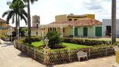 Town square in Trinidad, Cuba — Stock Photo