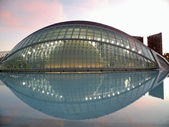 City of Arts and Sciences in Valencia — Stock fotografie