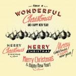 Christmas Greeting Card — Stock Vector #39383505