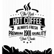 Coffee Background with Typography — Stock Vector #39383557