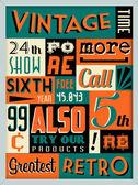 Retro vintage arka plan — Stok Vektör