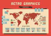 Infográfico elementos para projetos gráficos de alta qualidade — Vetorial Stock