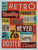 Retro Vintage Background — Stock Vector