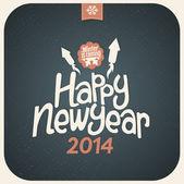Happy New Year — Stock vektor