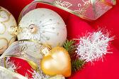 Chrismas decorations — Stock Photo