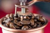 Close-up of an old-fashioned coffee grinder — Stock Photo