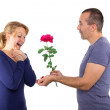 Stock Photo: Proposal of marriage