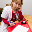 Phoning nurse — Stockfoto #37982621