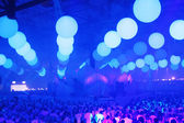 KIEV, UKRAINE - MAY 5: Sensation Innerspace show (ID&T) at the NEC on May 5, 2012 in Kiev, Ukraine — Стоковое фото