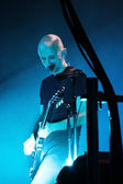 MINSK, BELARUS - JUNE 10: Moby performs at Minsk-Arena on June 10, 2011 — Stock Photo