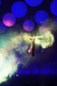 KIEV, UKRAINE - MAY 5: Sensation Innerspace show (ID&T) at the NEC on May 5, 2012 in Kiev, Ukraine — Zdjęcie stockowe