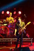 ミンスク、ベラルーシで土曜日 2012 年 9 月 22 日にスポーツの宮殿でのコンサートでロック バンド プラセボ — ストック写真