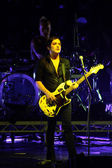 Rock band Placebo in concert at Sport Palace on Saturday, September 22, 2012 in Minsk, Belarus — Stock Photo