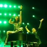 Постер, плакат: Members of ARMIN ONLY: Intense show with Armin van Buuren in Minsk Arena on February 21 2014