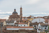 Church Of San Pedro. In Sarrión (Teruel). Spain — Stock Photo