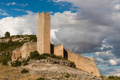 Cañavate Tower. Alarcón. Cuenca. Spain — Stock Photo