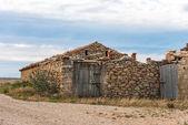 Old Cottage. Guadalajara. Spain — Foto Stock
