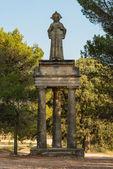 Estatua en la capilla de polop. alcoi. valencia. españa — Foto de Stock