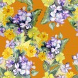 Flowers Seamles Pattern — Stock Photo #37596357