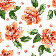 Red Roses Background — Stock Photo #37603543