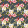Roses Seamless Pattern — Stock Photo #37603565