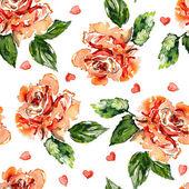 Sfondo di rose rosse — Foto Stock