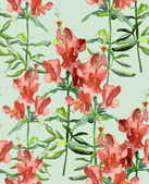 Snapdragons Seamless Pattern — Stock Photo