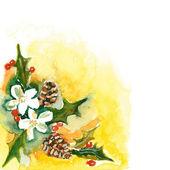 圣诞花束 — 图库照片