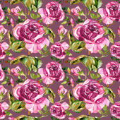 Roses Seamless Pattern — Stock Photo