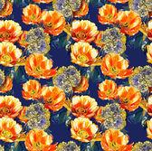 Flowers seamles pattern — ストック写真