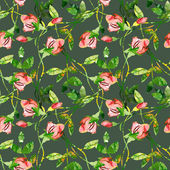 Roses seamles pattern — 图库照片