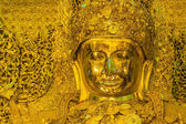 Big golden Mahamuni Buddha statue — Stock Photo