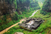 Wulong National Park, Chongqing, China — Stock Photo
