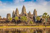 Templo de angkor wat, siem reap, camboya. — Foto de Stock