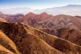 Colorful mountain in Danxia landform in Zhangye, Gansu of China — Stock Photo