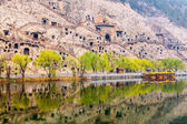 Longmen Grottoes, Luoyang, China — Stock Photo