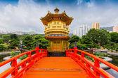 Nan Lian Garden,This is a government public park,Kowloon — Stock Photo